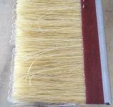 Cepillo de madera de pulido rotatorio del sisal de Tampico con el papel de la chorreadora