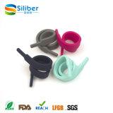 Legame portatile promozionale ecologico del grippaggio del cavo del silicone di stile del merletto
