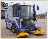 Fahrt auf batteriebetriebene Fußboden-Kehrmaschine-vierradangetriebenmaschine