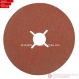 125 * 22mm P60, Zirconia & Aluminium Oxide Sanding Disc pour métal