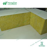 панель сандвича шерстей утеса толщины 200mm пожаробезопасная для стены, перегородки