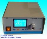 Source endoscopique d'éclairage LED du matériel 80W médicale avec le câble fibre optique