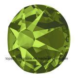 Pedra de cristal de Hotfix dos grânulos de cristal de Preciosa não para sapatas (olivine FB-ss20)