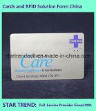 フルカラープラスチックカードPVCカードの名刺Cr80の標準カード