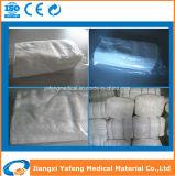 Suprimentos de saúde de algodão Zigzag Gauze Roll