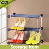 Gabinete de Sapato de Plástico Folding Fashion Waterproof Shoe Rack