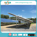 Le support au sol picovolte encadre des systèmes de support de chassis pour les panneaux solaires