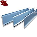 Schalldichtes materielles Deckenverkleidung-außenaluminium verschobene Metallstreifen-Decke
