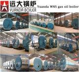 Prix horizontal de chaudière à vapeur de gas-oil de série de Wns de gloire