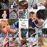 Silikon-Dentition-Armband für das Baby-Kauen