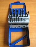 Dígitos binarios de taladro revestidos Titanium modificados para requisitos particulares de torcedura del HSS