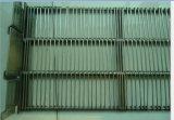 食品加工のための網ベルト、熱い処置装置