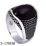 New Designs 925 Silver Garnet Cubic Zirconia Men Rings