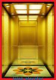 エッチングされたミラーのヘアラインステンレス鋼の別荘のエレベーターのホーム上昇