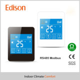 12VDC LCD Touch Screen   RS485 Modbus Room Thermostat Control Panel