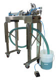Ligne remplissante de la petite eau ou machine de remplissage de bouteilles semi automatique de l'eau
