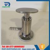 Gärungsbehälter-Tri Schelle-Beispielventil des Edelstahl-AISI316L