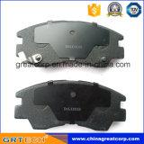 D6018m 미츠비시를 위한 중국 디스크 브레이크 패드