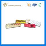 주문 금 카드 종이 호화스러운 장식용 Skincare 포장 상자 (큰 포장 인쇄 공장)