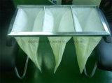 Filtro a sacco medio di risparmio di temi di En779 F8 per l'unità di trattamento dell'aria