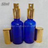 Bouteilles en verre 5ml de pétrole de parfum bleu à haute teneur de bouteilles---100ml