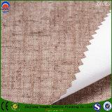Matéria têxtil Home tela impermeável tecida da cortina do escurecimento do franco da tela de linho/poliéster da tela