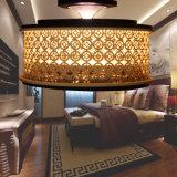 Iluminación de acrílico blanca del techo del estilo del hotel de la cortina de la tela B20-650
