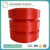 Filé rouge de la ténacité élevée FDY pp pour la torsion câblée