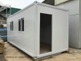 Huis van de Container van het Bouwmateriaal het Modulaire Geprefabriceerde
