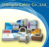 câble coaxial de liaison de perte inférieure blanche de 19vatc Digitals CATV