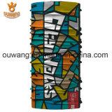 Merveilleux tissu populaire en gros Logo personnalisé Bandana transparente extensible