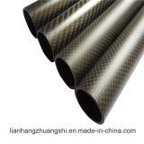 El peso ligero de fibra de carbono del tubo cónico