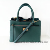 PUファッション・デザイナーの女性革ハンドバッグ(NMDK-052102)