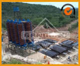 Tabla de sacudimiento de la minería del mineral de la lata del cobre del oro
