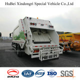vrachtwagen van de Pers van de Levering van Huisvuil 4 van 68cm Sinotruk HOWO de Euro met de Motor van de Mens
