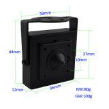 Oculto 700TVL CCD color cubierta Mini cámaras de seguridad