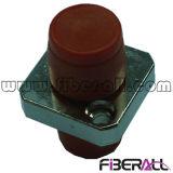 FC het vierkante Simplex van het Metaal van de Adapter van de Vezel van het Type Optische