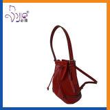Высокое качество формы красного мешка Backpack PU повелительниц новое