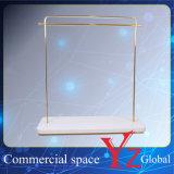 Estante de la promoción del estante de la exposición del estante de la percha del estante de visualización del acero inoxidable del estante de visualización del soporte de visualización (YZ161805)