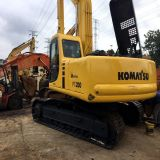 Venda 20ton_30ton 167.6kw_Original_Engine Electric_Drive Japão KOMATSU PC200-6 Hydraulic_Transmission Grab_Shovel Mining_Excavator