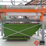 Precio automático chino de la máquina de la prensa del filtro hydráulico del compartimiento
