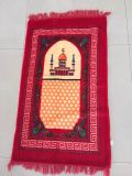 印刷の柔らかい高品質の物質的なイスラム教の礼拝用敷物