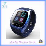 多機能のBluetoothの電話を用いる方法Andriodのスポーツのスマートな腕時計M26