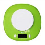 Verde eletrônico de Mimir 2-5000g da escala da cozinha com bacia X 11lb x 0.1oz/5000 1g