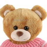 분홍색 스웨터를 가진 새로운 디자인 장난감 곰