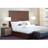 販売C01のための暗い設計された木製の穀物のホテルの部屋の家具