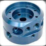 Подгонянные части CNC алюминиевого материала высокой точности подвергая механической обработке при анодированный цвет