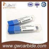Moinhos de extremidade do carboneto 2 flautas HRC45