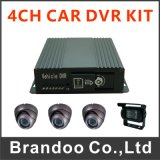 安いGPS、サポートアラーム入力/出力の128GB SDのカード、モデルBd325gwの3GバスDVR