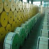 Fio de aço folheado de cobre CCS da condutibilidade 21%Iacs-45%Iacs